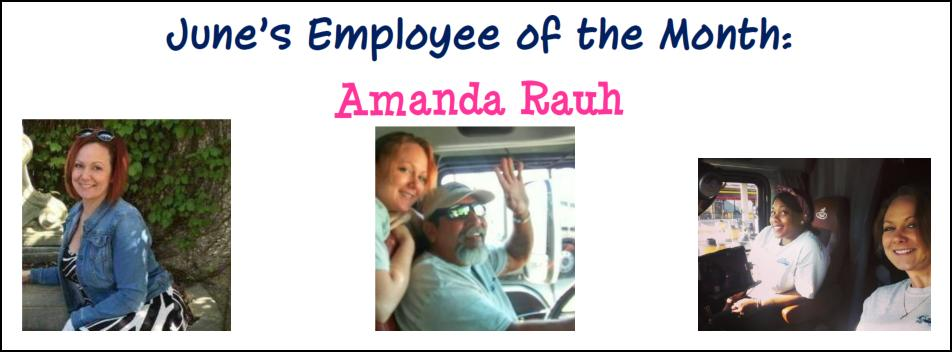 Employee of the Month, June 2016